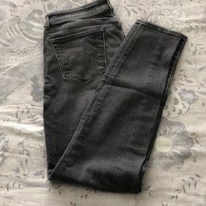 Lucky brand gray jeans. Lolita skinny size 6/28